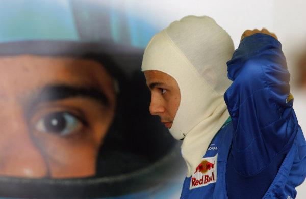 2004 European Grand Prix - Friday Practice,Nurburgring, Germany. 28th May 2004 Felipe Massa, Sauber Petronas C23, portrait.World Copyright: Steve Etherington/LAT Photographic ref: Digital Image Only