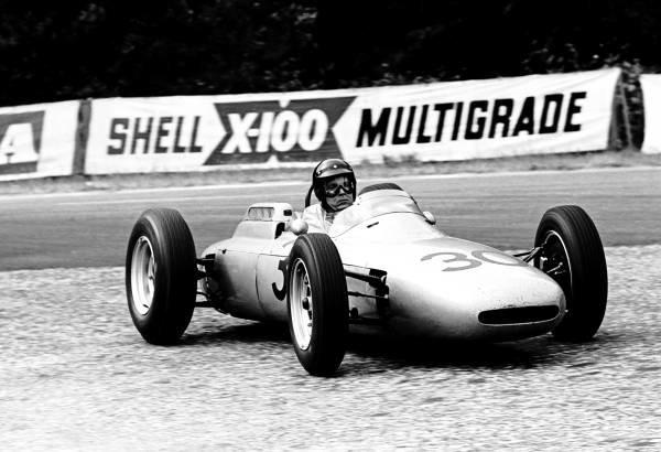 French GP, Rouen 8 July  1962  Winner, Dan Gurney, Porsche 804