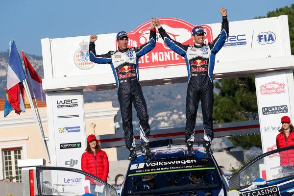 2016 World Rally Championship, Round 01, Rally Monte Carlo, 21st - 24th January, 2016 Sebastien Ogier, VW, winner  Worldwide Copyright: McKlein/LAT