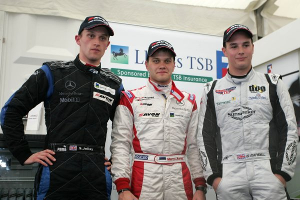 2007 British Formula Three Championship,Donington Park 21st-22nd April 2007,Stephen Jelley, Marko Asmer, Greg MansellWorld copyright: Ebrey/LAT Photographic.