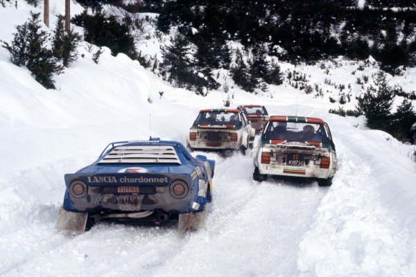 FIA World Rally Championship. Monte Carlo Rally.