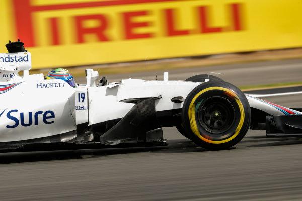 Silverstone, Northamptonshire, UK.  Friday 14 July 2017. Felipe Massa, Williams FW40 Mercedes. World Copyright: Glenn Dunbar/LAT Images  ref: Digital Image _X4I3234