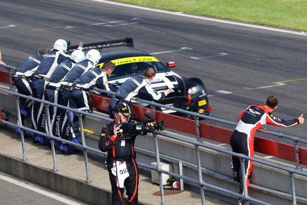 2017 British GT Championship Snetterton, 27th-28th May 2017, Derek Johnston / Jonny Adam TF Sport Aston Martin Vantage GT3  World copyright. JEP/LAT Images