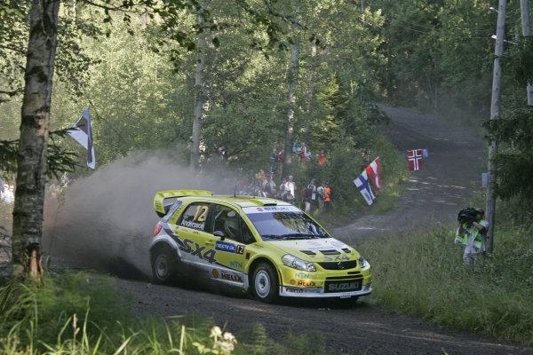 Round 09Neste Oli Rally Finland 200831/7-3/8  2008PG Andersson, Suzuki WRC, Action