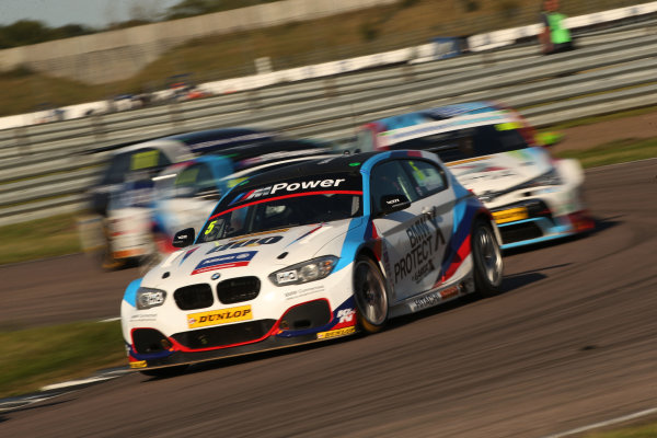2017 British Touring Car Championship, Rockingham, England. 26th-27th August 2017, Robert Collard (GBR) Team BMW BMW 125i M Sport World Copyright. JEP/LAT Images