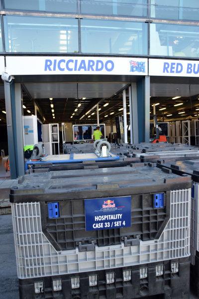Red Bull Racing freight.Formula One World Championship, Rd1, Australian Grand Prix, Preparations, Albert Park, Melbourne, Australia, Sunday 9 March 2014.