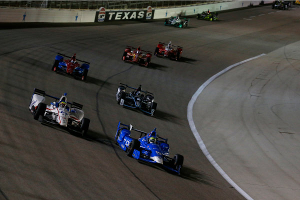10-11 June, 2016, Fort Worth, Texas USA Tony Kanaan, Gabby Chaves ?2016, Phillip Abbott LAT Photo USA