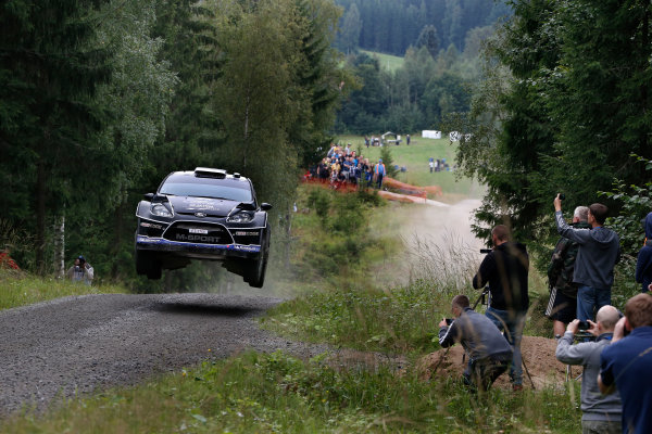 Round 08-Neste Rally Finland 1/8-4/8 2012.Ott Tanak, Ford WRC, Action.Worldwide Copyright: McKlein/LAT
