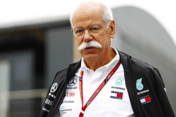 Dieter Zetsche, Chairman of the Board of Management of Daimler AG and Head of Mercedes-Benz Cars.