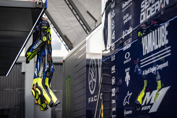 Valentino Rossi, Yamaha Factory Racing leathers