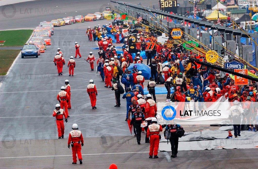 2002 NASCAR Atlanta Motor Speedway, October 25, 2002