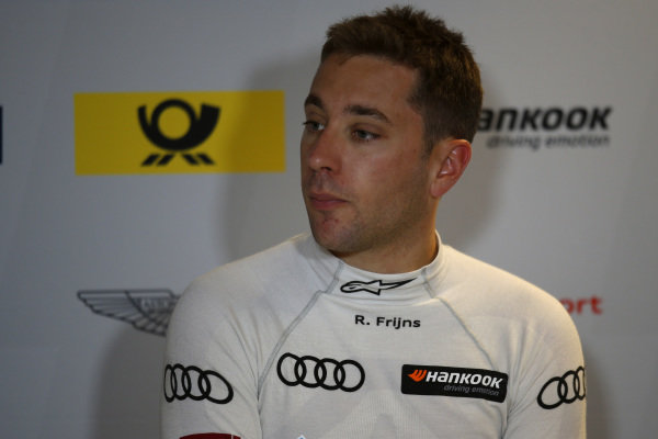 Press Conference, Robin Frijns, Audi Sport Team Abt Sportsline.
