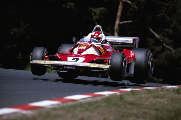 Clay Regazzoni, Ferrari 312T2.
