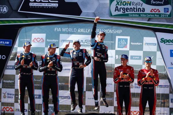 Thierry Neuville, Andreas Mikkelsen, Hyundai Motorsport, Hyundai i20 Coupé WRC 2019, Sébastien Ogier, Citroen Racing WRC, Citroen C3 WRC