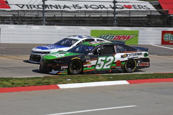 #77: D.J. Kennington, Spire Motorsports, Chevrolet Camaro Go-Parts #52: Jeb Burton, Rick Ware Racing, Ford Mustang