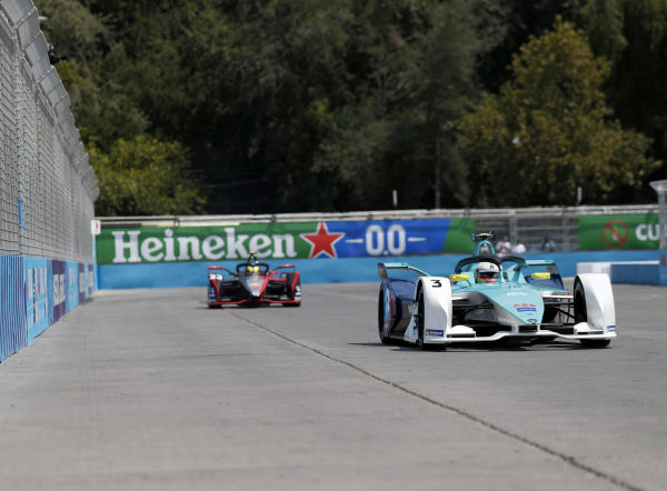Oliver Turvey (GBR), NIO 333, NIO FE-005 and Oliver Rowland (GBR), Nissan e.Dams, Nissan IMO2