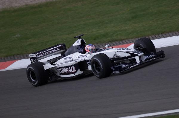 2000 European Grand Prix.Nurburgring, Germany.19-21 May 2000.Jenson Button (Williams FW22 BMW).World Copyright - LAT Photographic