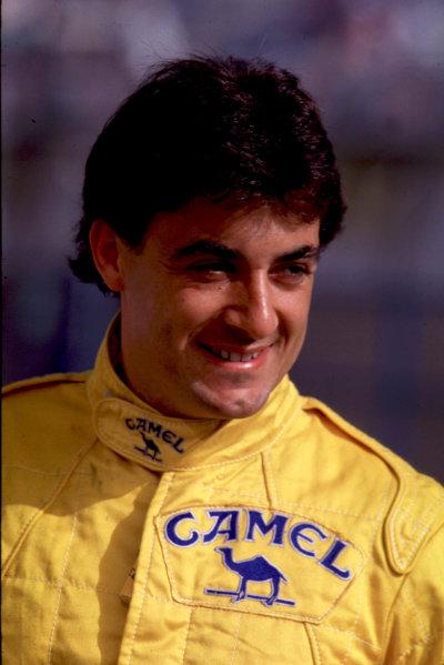 Jerez, Spain. 4th June 1989. Jean Alesi (Eddie Jordan Racing). World Copyright: LAT Photographic. Ref: