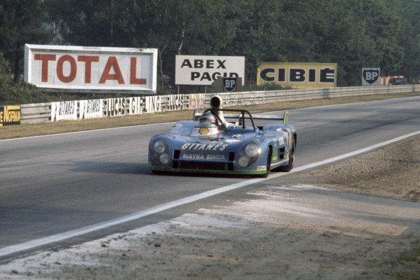 1974 Le Mans 24 hours.Le Mans, France. 15-16 June 1974.Gerard Larrousse/Henri Pescarolo (Matra-Simca MS670B), 1st position. 