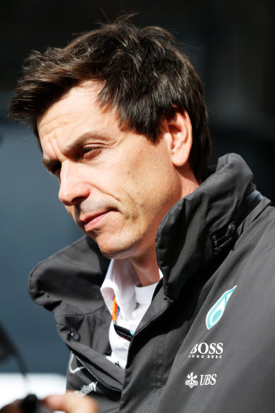 Monte Carlo, Monaco. Thursday 21 May 2015. Toto Wolff, Executive Director (Business), Mercedes AMG. World Copyright: Alastair Staley/LAT Photographic. ref: Digital Image _R6T8448