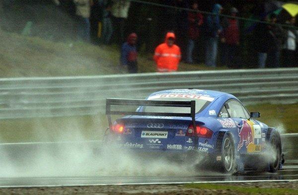 Mattias Ekstrom (SWE) Abt Sportsline Audi TT-R.German Touring Car Championship, Rd2, Zolder, Belgium. 5 May 2002.DIGITAL IMAGEpress