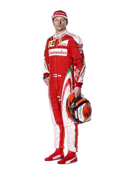 Ferrari SF16-H Reveal. Friday 19 February 2016. Kimi Raikkonen, Ferrari.  Photo: Ferrari (Copyright Free FOR EDITORIAL USE ONLY) ref: Digital Image 160004_new-SF16-h_KR_2016