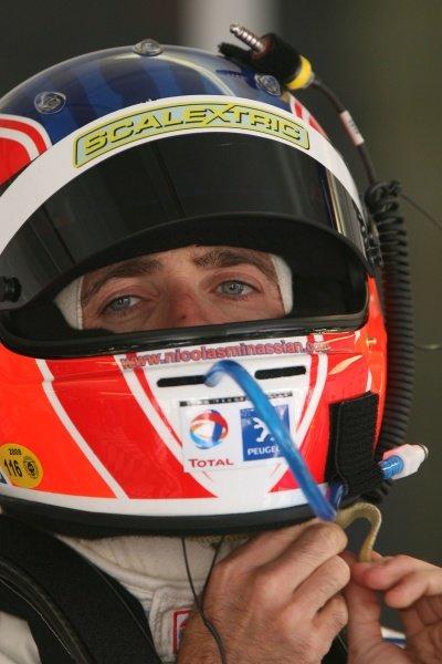Nicolas Minassian (FRA), Peugeot.Le Mans 24 Hour Race, Circuit De La Sarthe, Le Mans , France.14-15 June 2008.