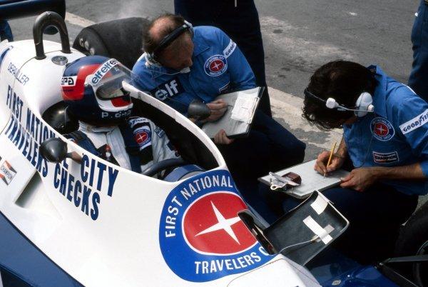 Patrick Depailler (FRA) Tyrrell 008 finished the race in fourth position.British Grand Prix, Rd 10, Brands Hatch, England, 16 July 1978.BEST IMAGE