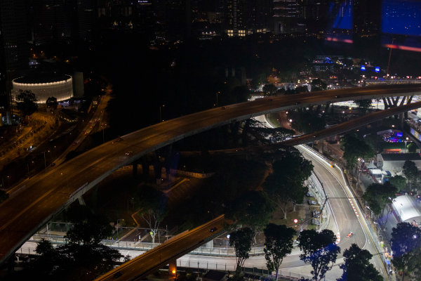 Marina Bay Circuit, Singapore. Sunday 20 September 2015. Sebastian Vettel, Ferrari SF-15T. World Copyright: Will Taylor-Medhurst/LAT Photographic ref: Digital Image _X0W0277