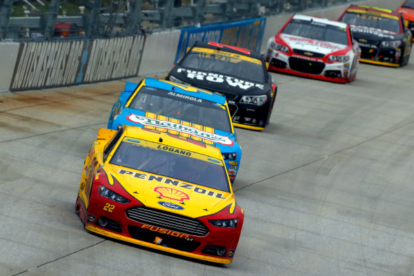 2-4 October, 2015, Dover, Delaware USA Joey Logano and Aric Almirola ?2015, Russell LaBounty LAT Photo USA