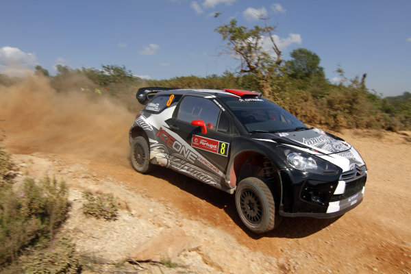 Round 03-Rally Portugal. 23th-27th March 2011.Kimi Raikkonen, Citroen WRC, Action.Worldwide Copyright: McKlein/LAT