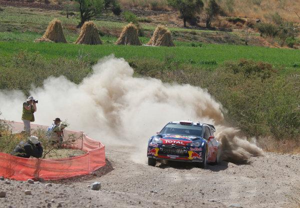 Round 2, Rally of Mexico, 3rd-6th March 2011Sebsatien Loeb, Daniel Elena, Citroen DS3 WRC, Action, Worldwide Copyright: McKlein/LAT