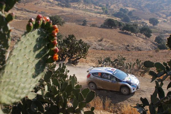 Round 2, Rally of Mexico, 3rd-6th March 2011Nasser Al-Attaya, Govanni Bernacchini, Ford Fiesta ST WRC,Worldwide Copyright: McKlein/LAT