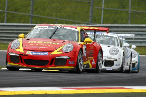 Cameron Twynham (GBR) MOMO-Megatron Team PARTRAX at Porsche Supercup, Rd3, Spielberg, Austria, 19-21 June 2015.