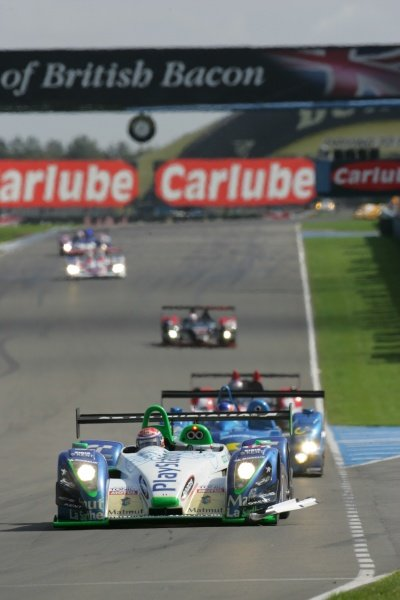 Jean-Christophe Boullion (FRA) Pescarolo Sport Pescarolo C60 Judd won the race.