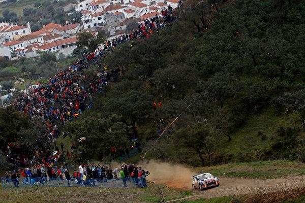 Round 04-Rally Portugal 28/3-1/4 2012. Mikko Hirvonen, Jarmo Lehtinen,Citroen WRC, ActionWorldwide Copyright: McKlein/LAT