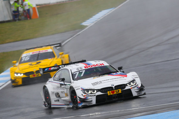 DTM Championship Hockenheim, Germany 1st - 3rd May 2015 #77 Martin Tomczyk (GER, BMW Team Schnitzer, BMW M4 DTM) Copyright Free FOR EDITORIAL USE ONLY. Mandatory Credit: DTM. ref: Digital Image DTM-1430491995