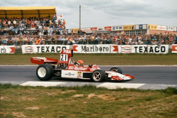 1974 Belgian Grand Prix  Nivelles-Baulers, Belgium. 10-12th May 1974.  Gijs van Lennep, Williams FW02 Ford, 14th position.  Ref: 74BEL37. World Copyright: LAT Photographic
