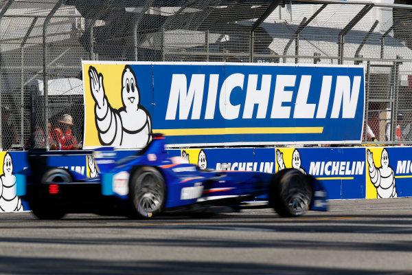 2014/2015 FIA Formula E Championship. Salvador Duran (MEX)/Amlin Aguri - Spark-Renault SRT_01E  Long Beach ePrix, Long Beach, California, United States of America. Saturday 4 April 2015  Photo: Adam Warner/LAT/Formula E ref: Digital Image _L5R6673