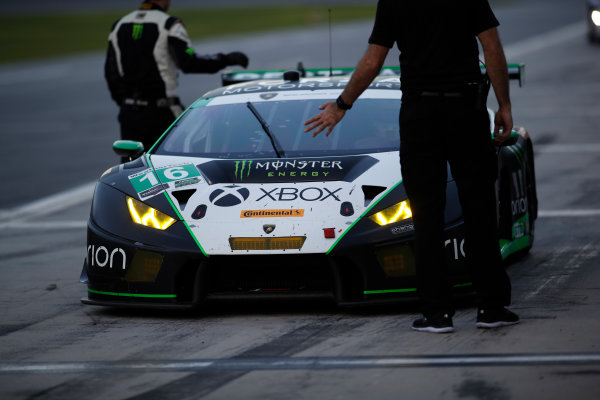 5-8 January, 2017, Daytona Beach, Florida USA 16, Lamborghini, Lamborghini Huracan GT3, GTD,  ?2017, Michael L. Levitt LAT Photo USA
