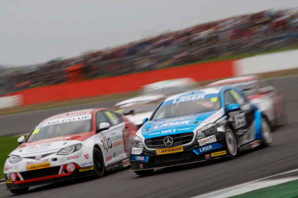 2016 British Touring Car Championship, Silverstone, 17th-18th September 2016, Aiden Moffat (GBR) Laser Tools Racing Mercedes A-Class  World Copyright. Jakob Ebrey/LAT Photographic.