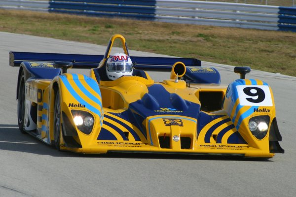 JANUARY 23-25, 2006, SEBRING INTERNATIONAL RACEWAY,  NO 9 LOLA-MG B01/60 W/ ANDY WALLACE ABORAD.     