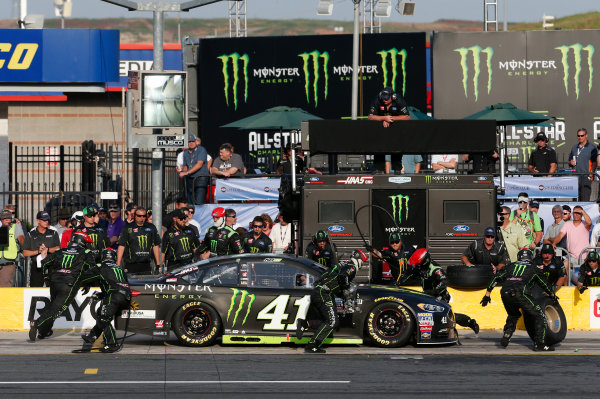 Monster Energy NASCAR Cup Series Monster Energy NASCAR All-Star Race Charlotte Motor Speedway, Concord, NC USA Friday 19 May 2017 Kurt Busch, Stewart-Haas Racing, Monster Energy Ford Fusion World Copyright: Matthew T. Thacker LAT Images ref: Digital Image 17CLT1mt1405