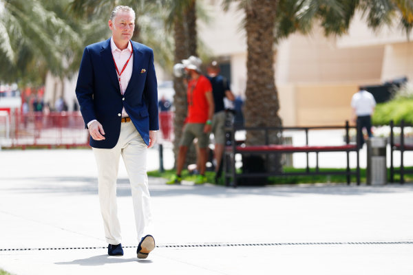 Bahrain International Circuit, Sakhir, Bahrain.  Friday 14 April 2017. Sean Bratches, Managing Director of Commercial Operations, Formula One. World Copyright: Sam Bloxham/LAT Images ref: Digital Image _J6I8672
