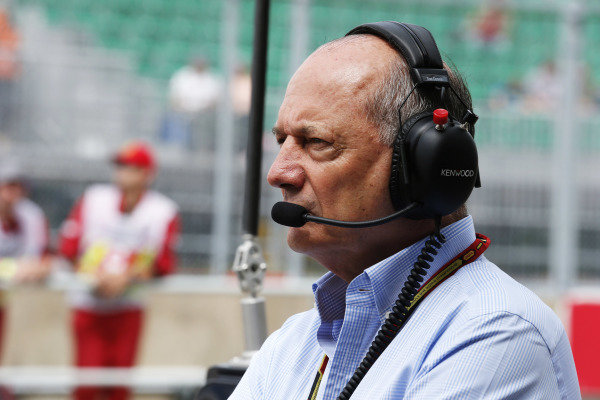 Circuit Gilles Villeneuve, Montreal, Canada. Friday 6 June 2014. Ron Dennis, Executive Chairman, McLaren Automotive. World Copyright: Steven Tee/LAT Photographic. ref: Digital Image _L4R7866