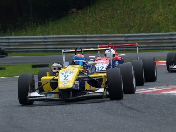 Nathan Antunes (AUS) HS Technik Motorsport, in race 2.Recaro Formel 3 Cup, Rd9, Salzburgring, Austria, 16-17 September 2006.DIGITAL IMAGE