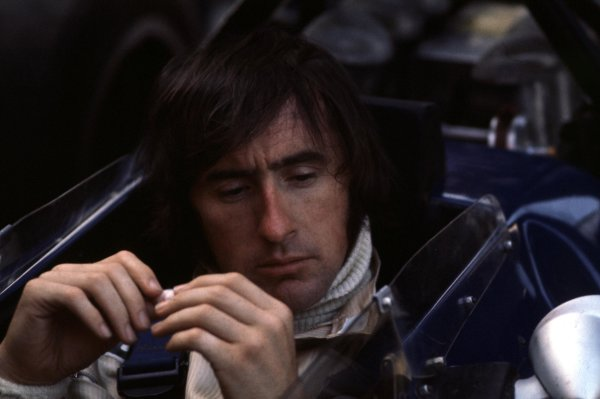 1970 Belgian Grand Prix.Spa-Francorchamps, Belgium.5-7 June 1970.Jackie Stewart (Tyrrell).Ref-70 BEL 44.World Copyright - LAT Photographic