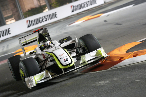 Jenson Button, Brawn BGP 001 Mercedes.