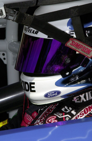 #99-Jeff Burton in his car.-F Peirce Williams 2000 LAT PHOTOGRAPHIC File Photo