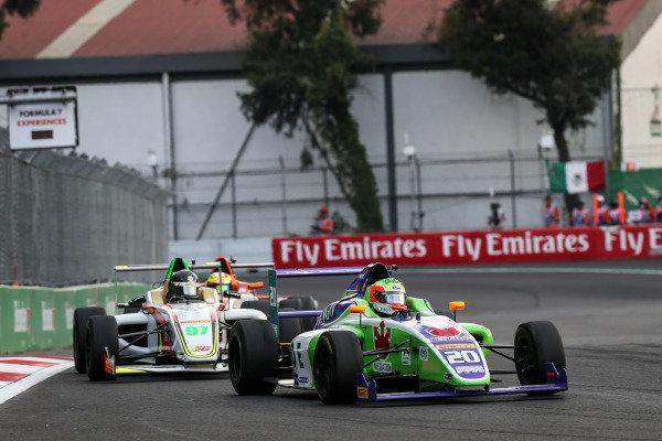 Sergio Martinez (MEX) MARESPI RACING at Formula 4 Series, Circuit Hermanos Rodriguez, Mexico City, Mexico, 27-29 October 2017.
